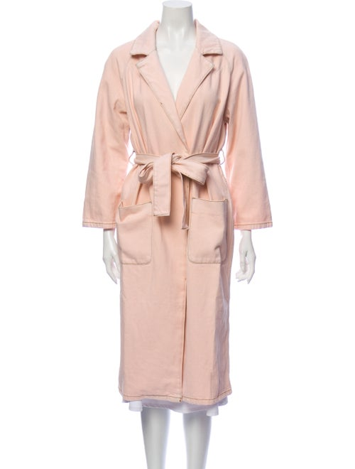 Ganni Trench Coat Pink