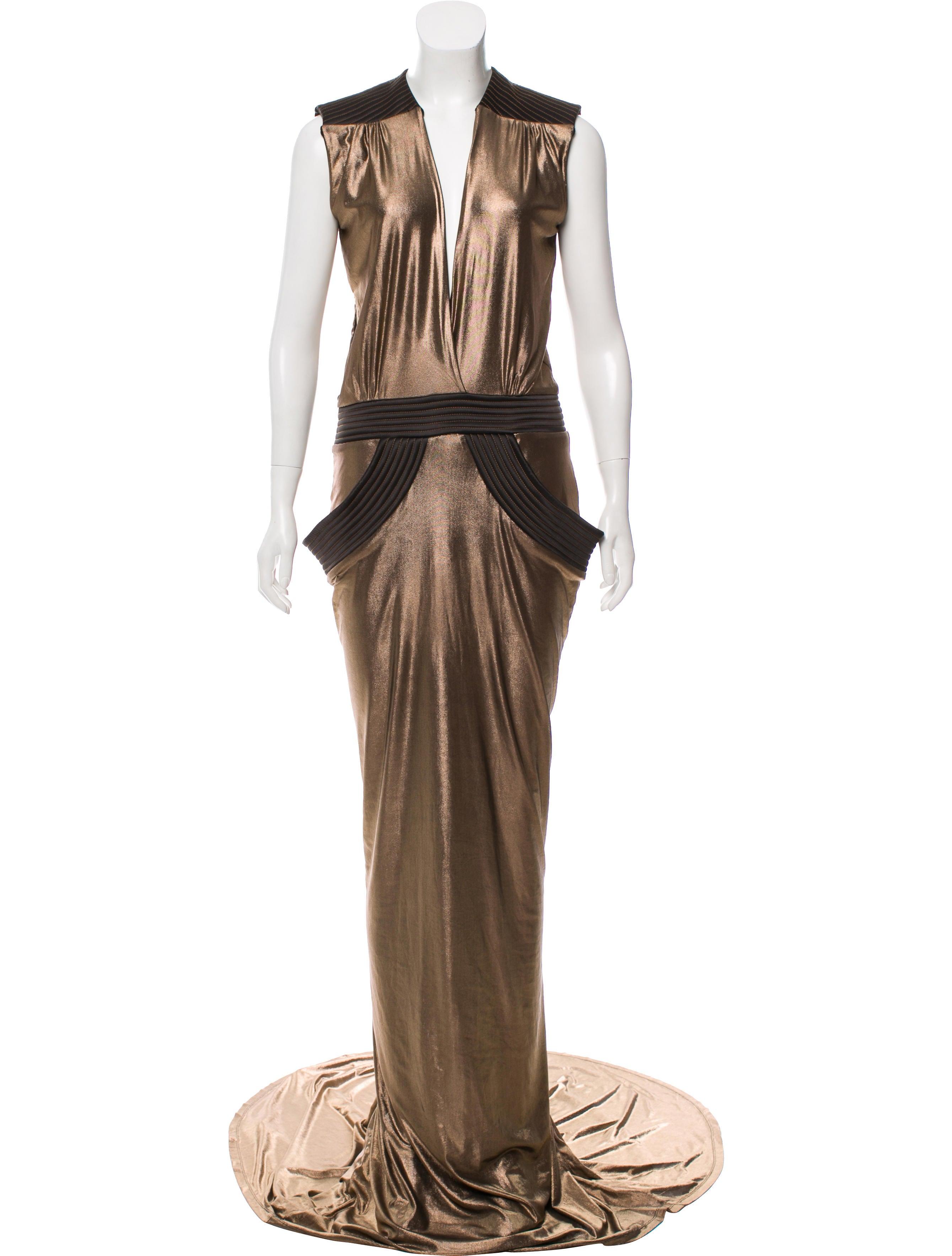 Zhivago Espionage Metallic Gown w/ Tags - Clothing - WZHIV20018 ...