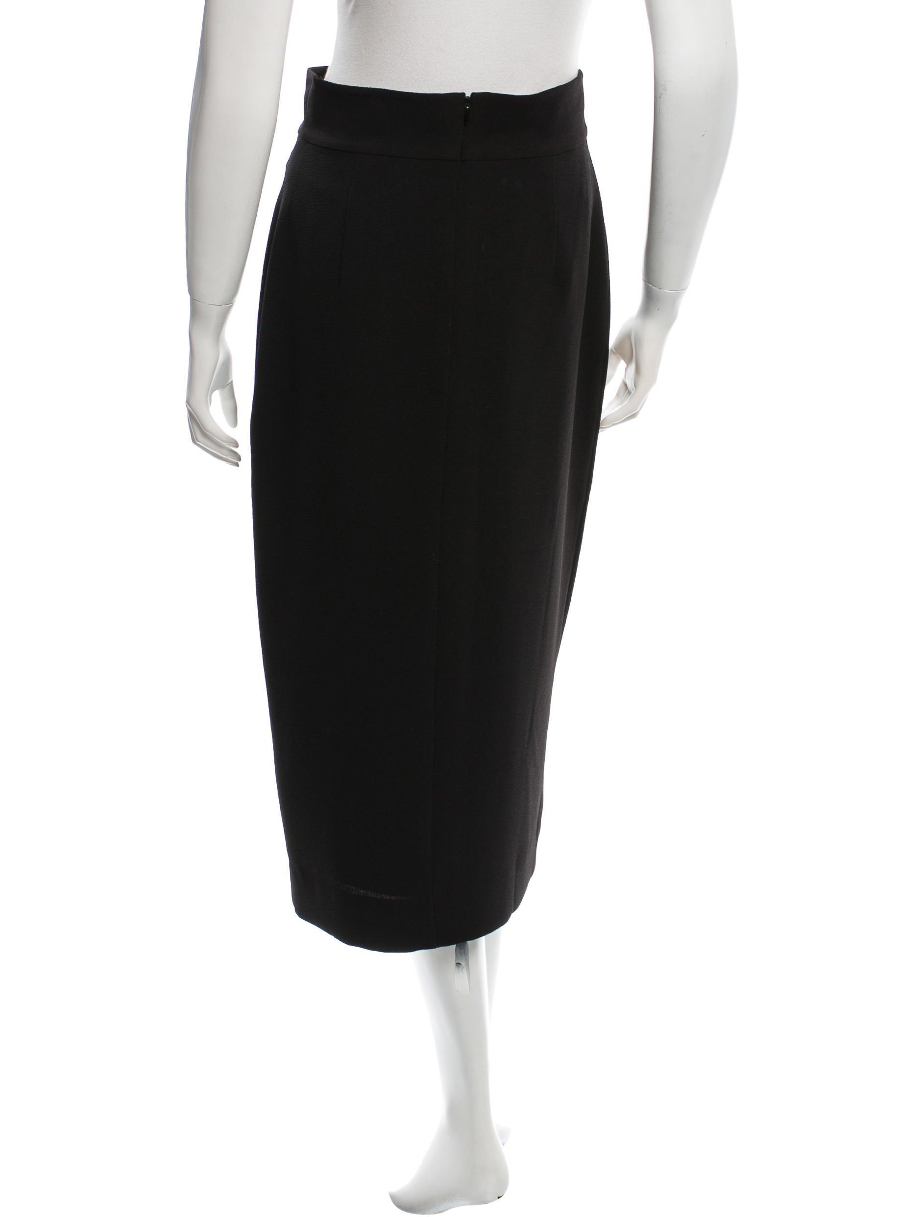 zimmermann fitted midi skirt clothing wzi21291 the