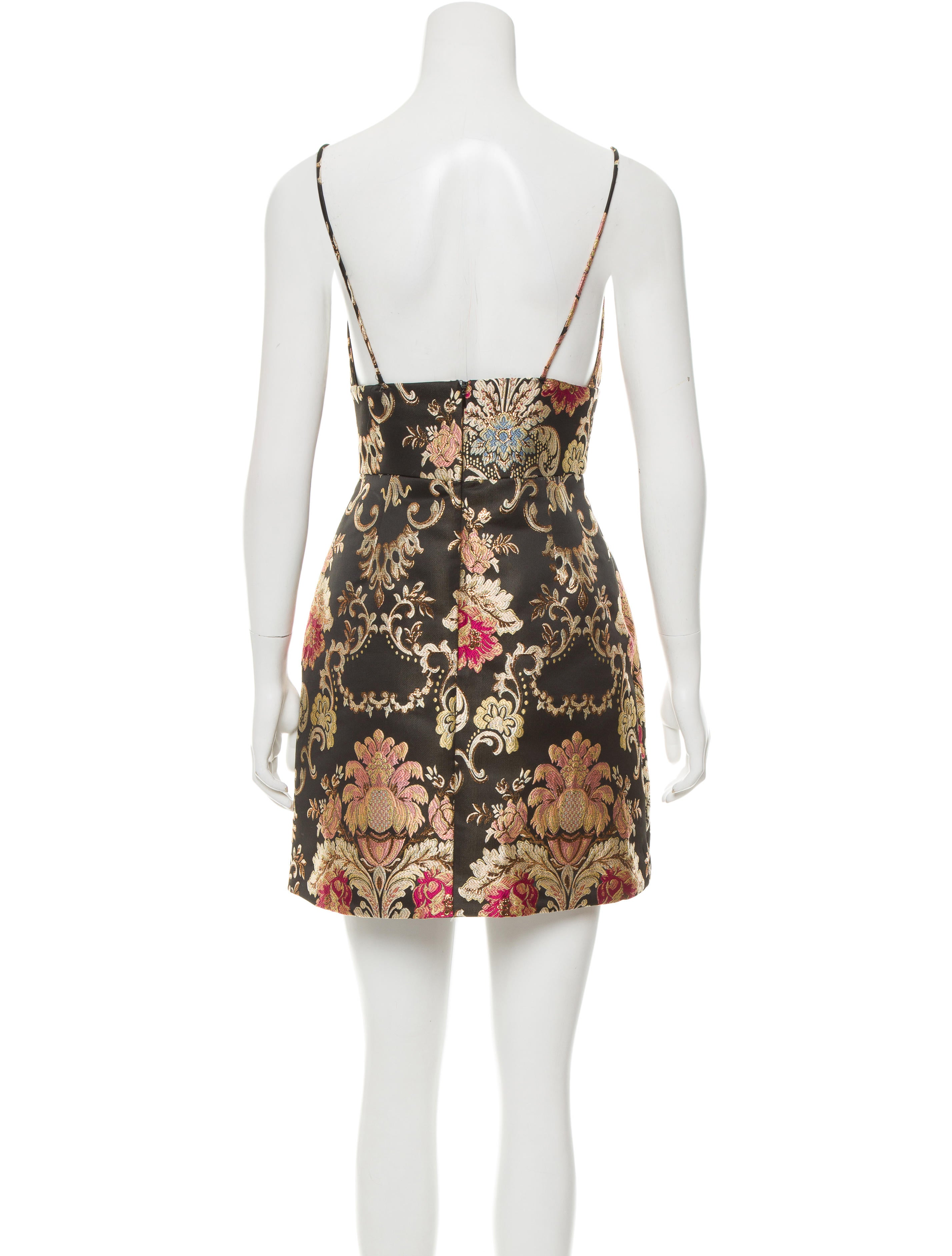 Zimmermann embroidered mini dress clothing wzi