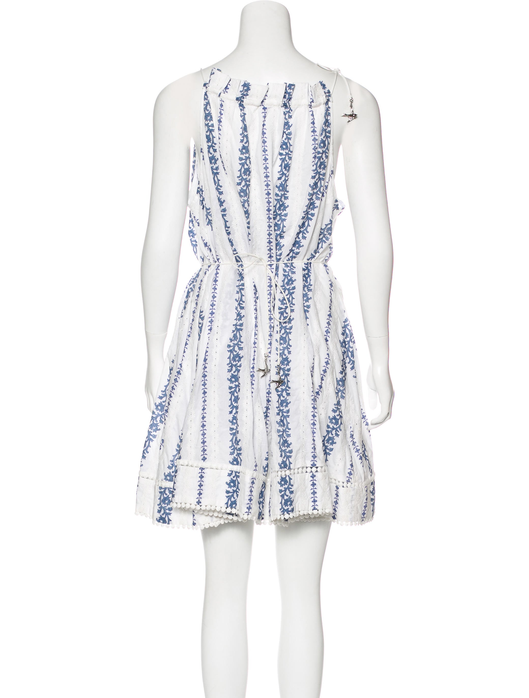 Zimmermann embroidered tent dress clothing wzi