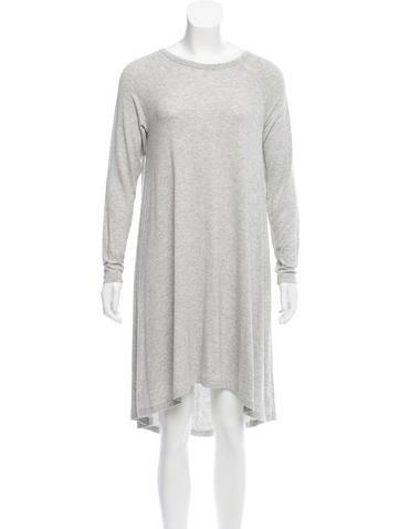 Zimmermann Long Sleeve Jersey Dress None