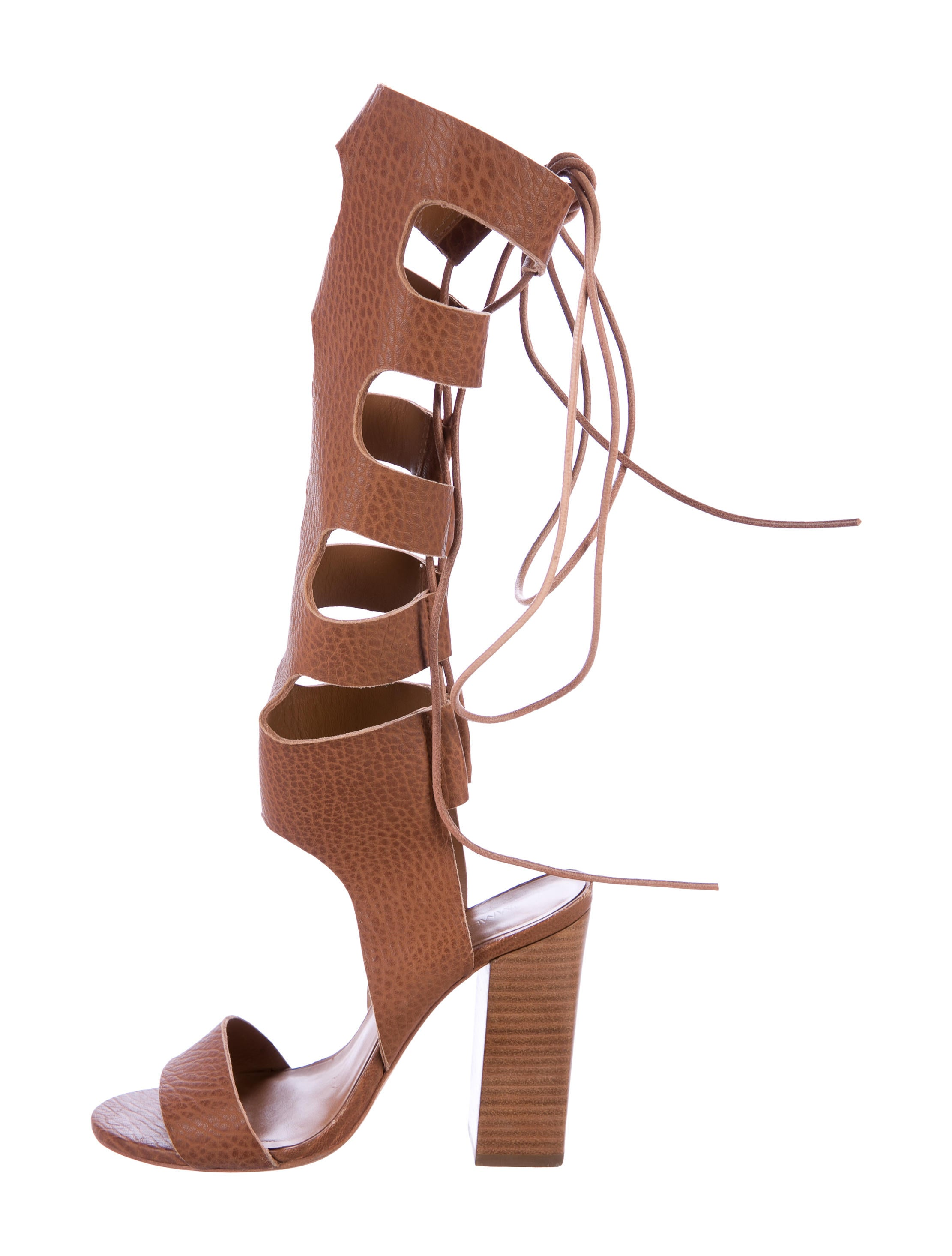 free shipping 2014 newest for cheap for sale Zimmermann Leather Gladiator Sandals buy cheap top quality aGAuI