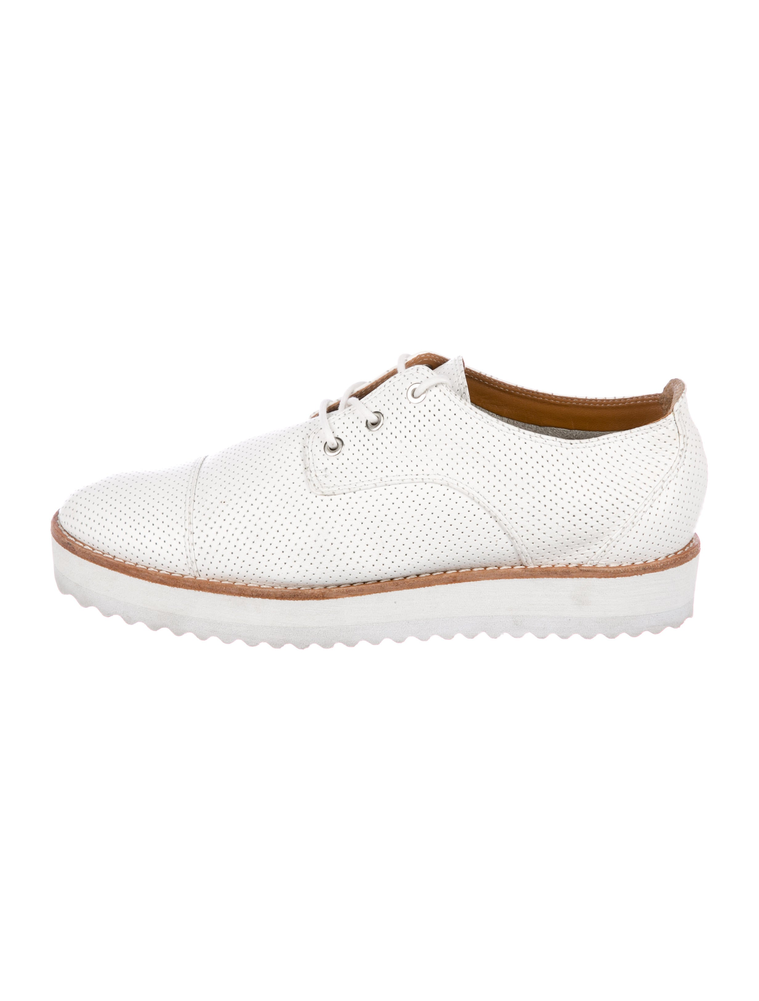 Zimmermann Perforated Leather Oxfords buy cheap lowest price cheap sale great deals cheap sale fake shipping outlet store online i5bgzo