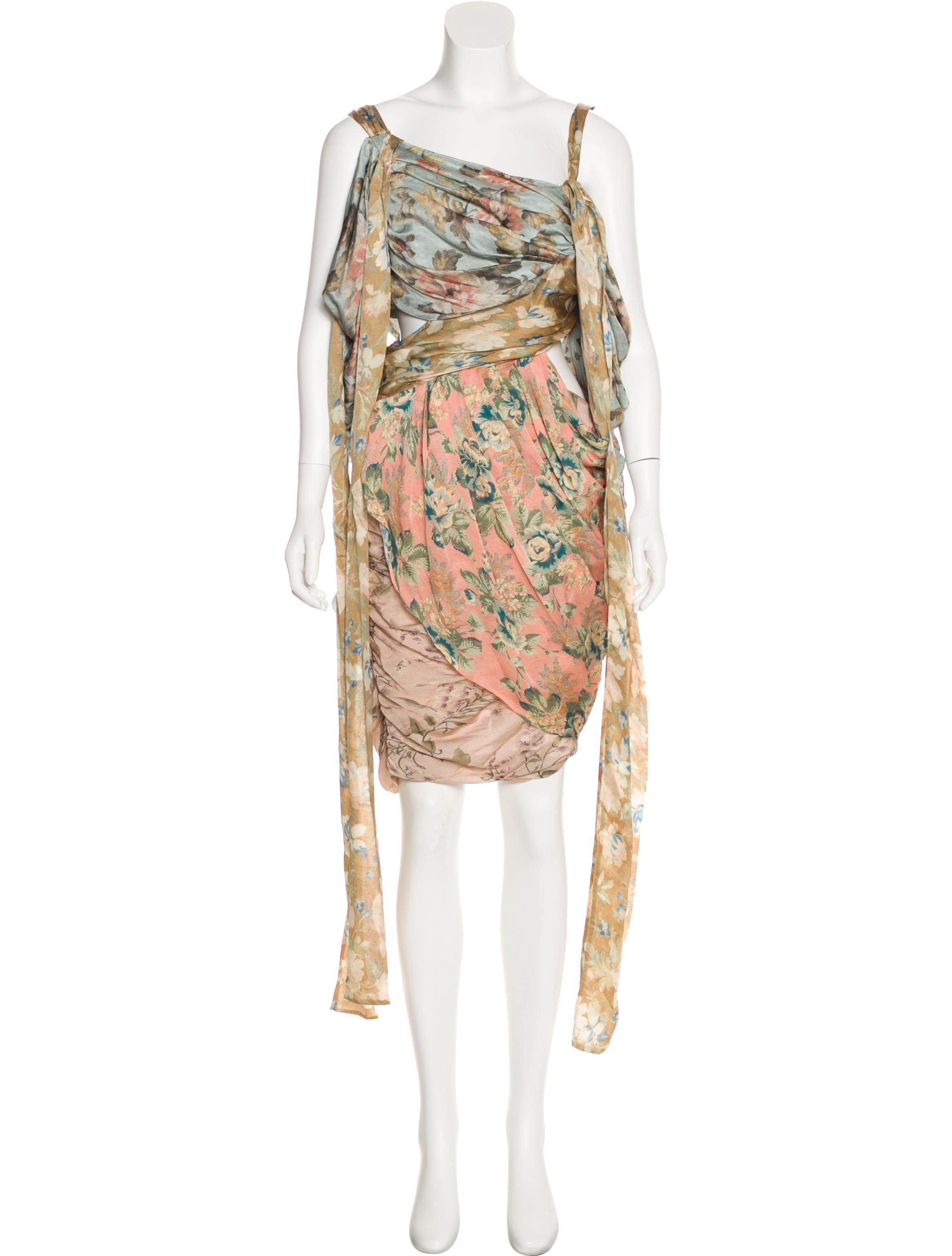 14217d6f89eb8 Zimmermann 2018 Unbridled Elixir Silk Mini Dress w/ Tags - Clothing ...