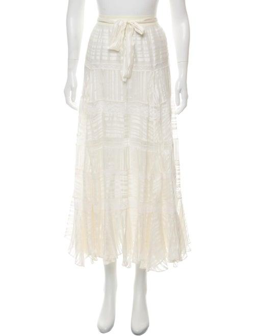 5cbcb6e60 Zimmermann Silk Midi Skirt - Clothing - WZI29464 | The RealReal
