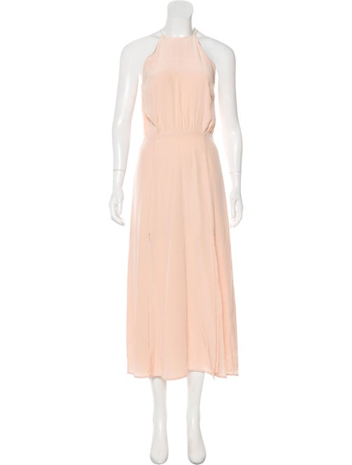 Zimmermann Sleeveless Maxi Dress Pink