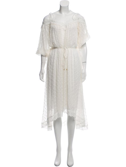 Zimmermann Silk Lace-Trimmed Dress