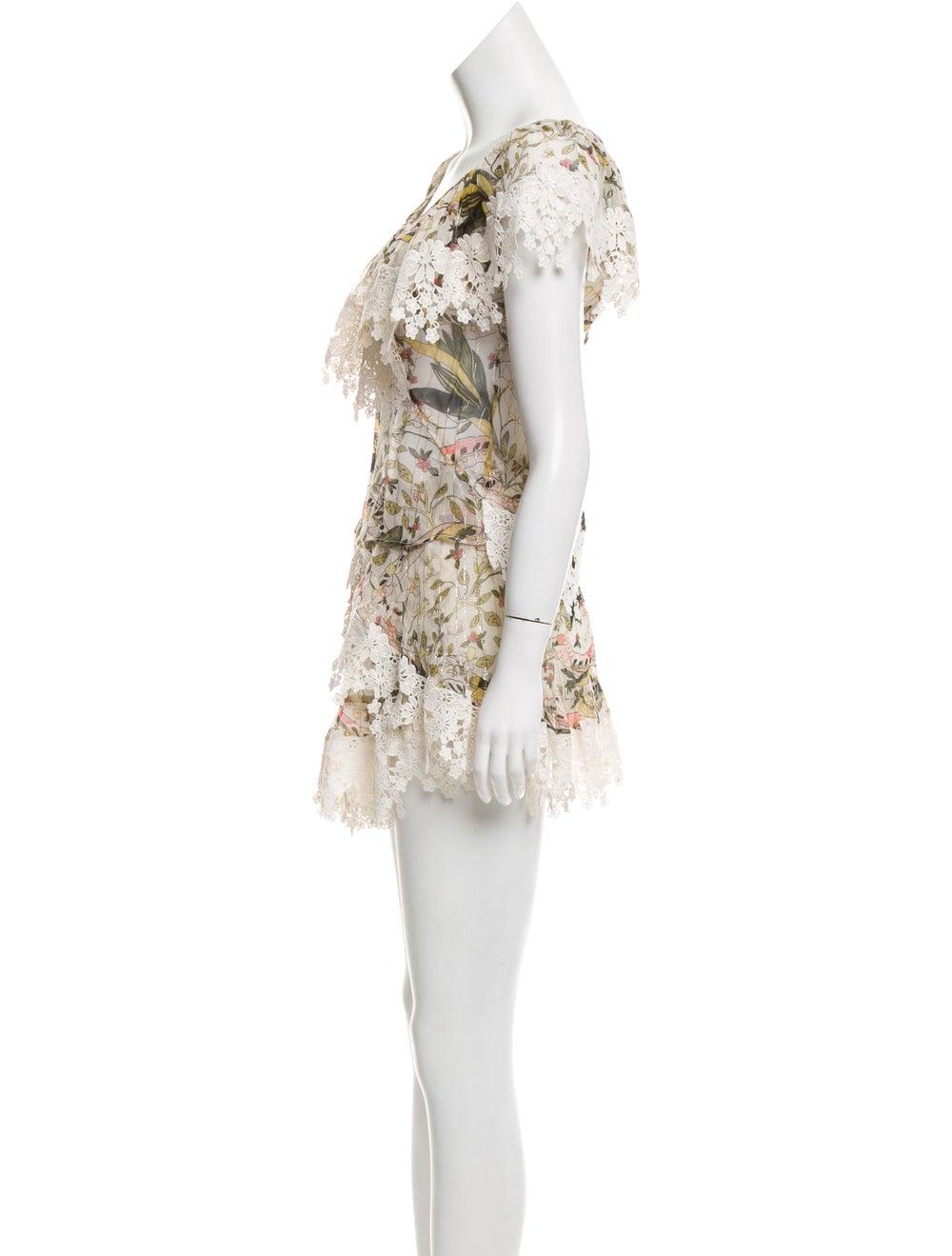 Zimmermann Floral Print Skirt Set - image 2