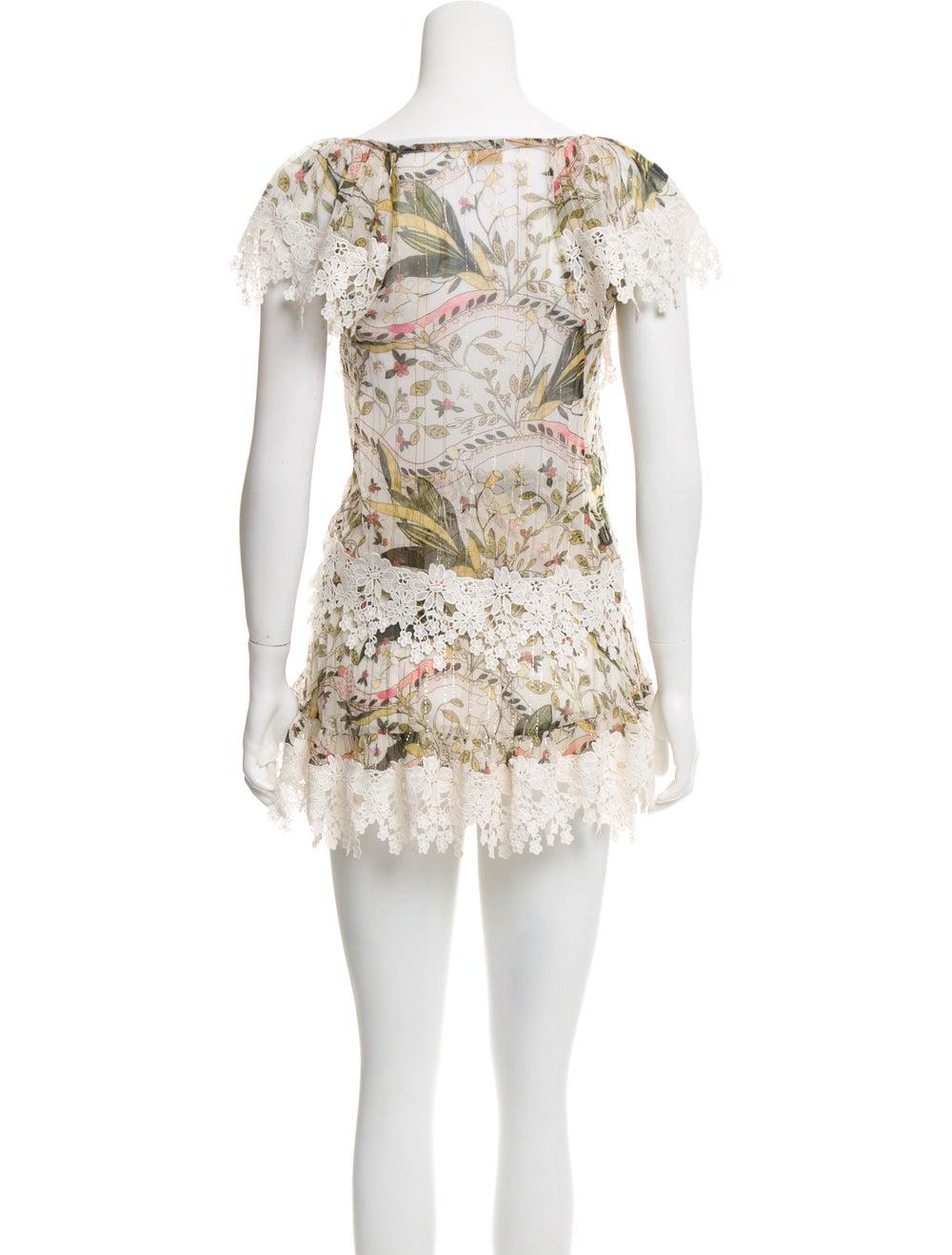 Zimmermann Floral Print Skirt Set - image 3