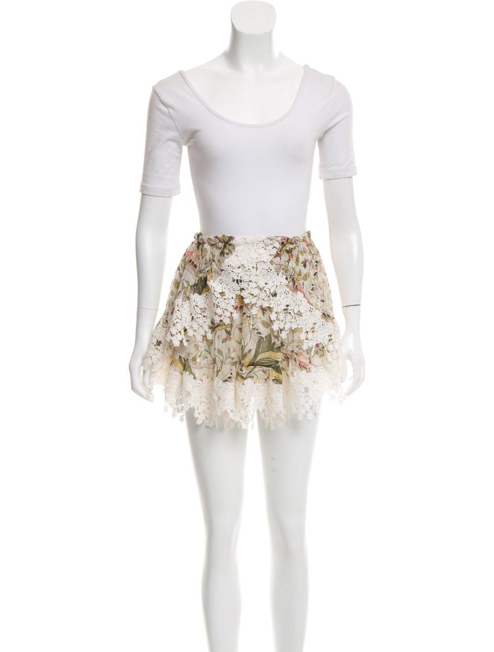 Zimmermann Floral Print Skirt Set - image 4