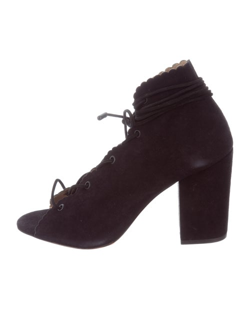 Zimmermann Ghillie Peep-Toe Ankle Boots w/ Tags Bl