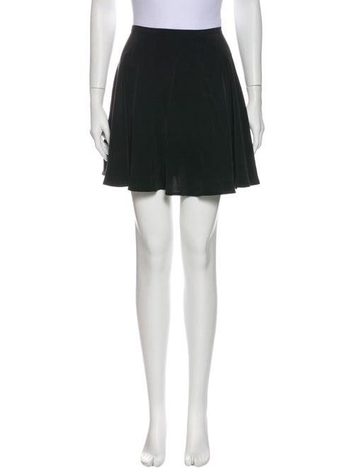 Zimmermann Silk Mini Skirt Black