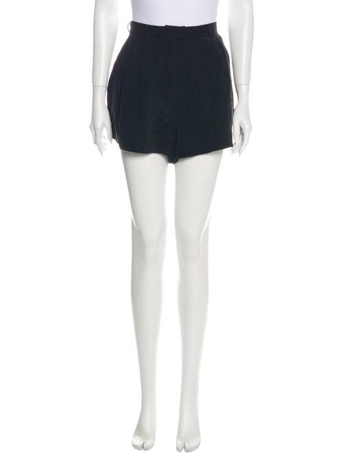 Zimmermann Silk Mini Shorts Black
