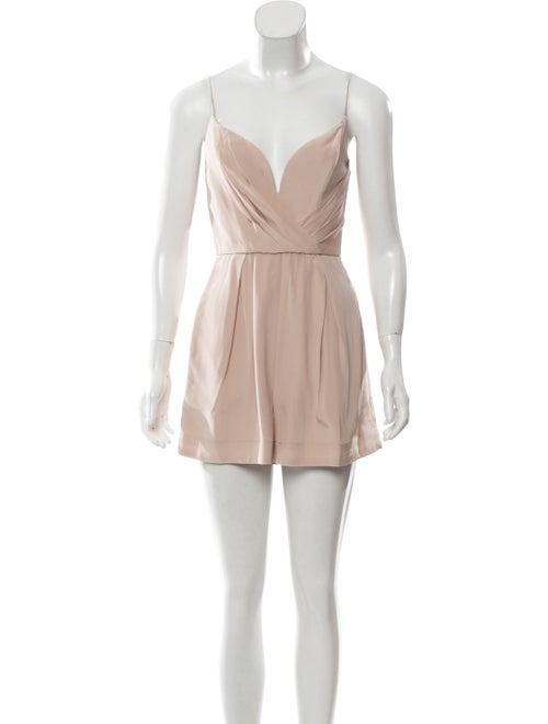 Zimmermann Silk V-Neck Romper