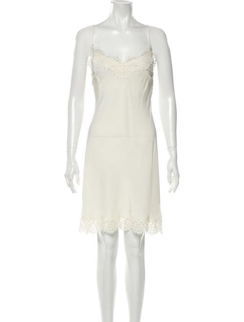 Zimmermann Silk Mini Dress White