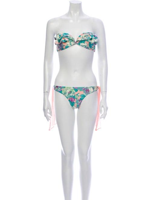 Zimmermann Floral Print Bikini w/ Tags