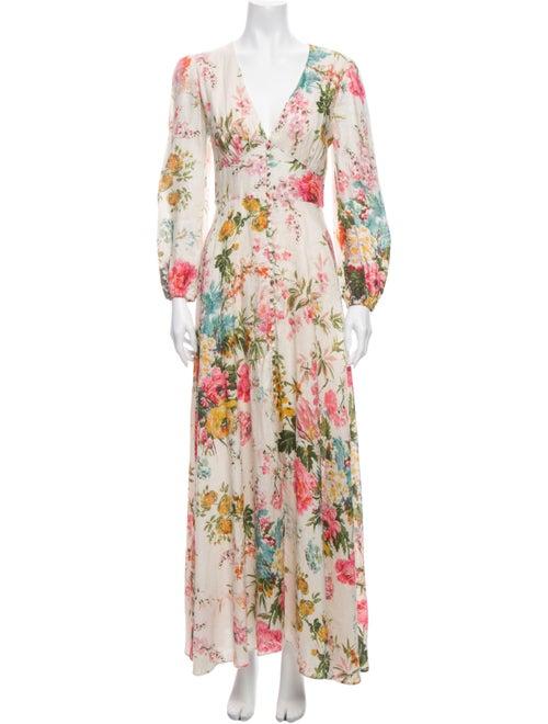 Zimmermann Linen Long Dress