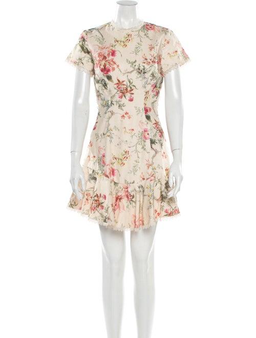 Zimmermann Floral Print Mini Dress