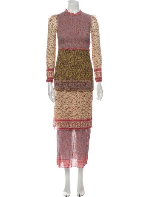 Zimmermann Printed Long Dress