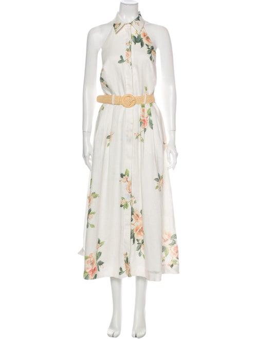 Zimmermann Linen Long Dress w/ Tags White