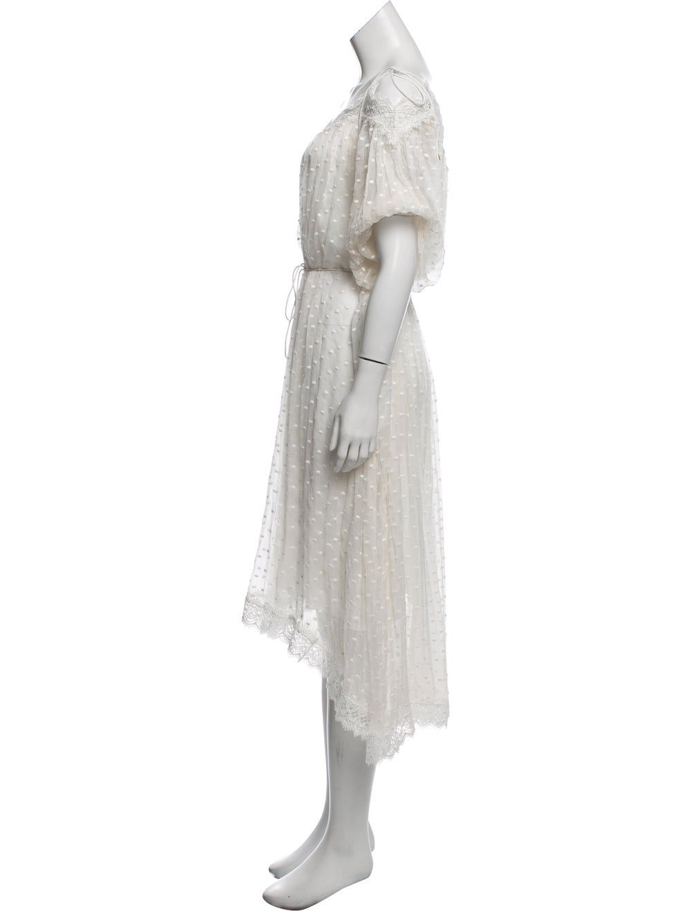 Zimmermann Silk Lace-Trimmed Dress - image 2