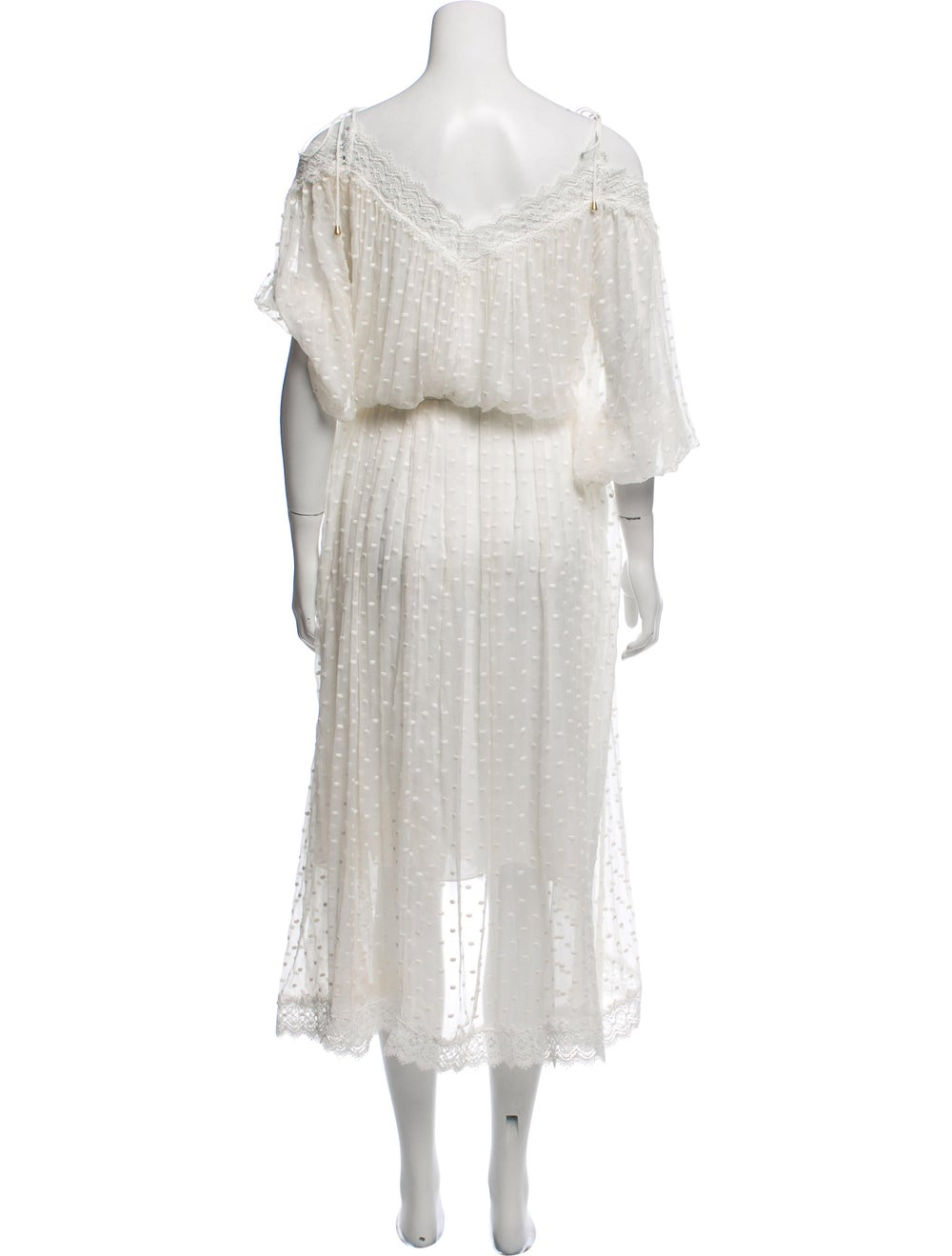 Zimmermann Silk Lace-Trimmed Dress - image 3
