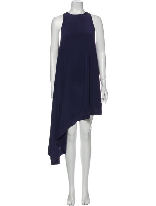 Zimmermann Silk Long Dress Purple