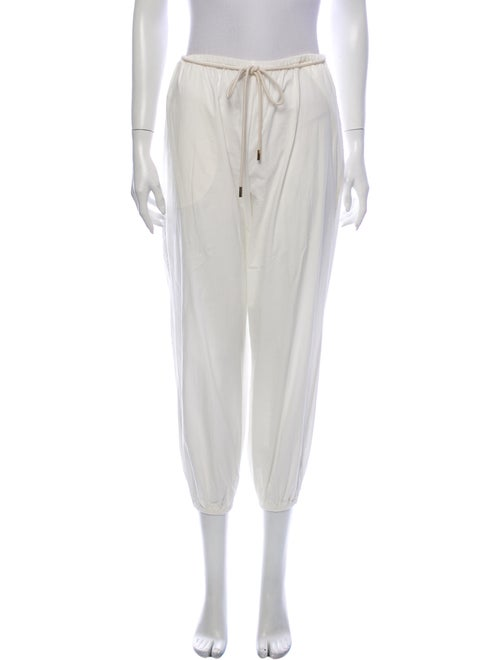 Zimmermann Skinny Leg Pants White