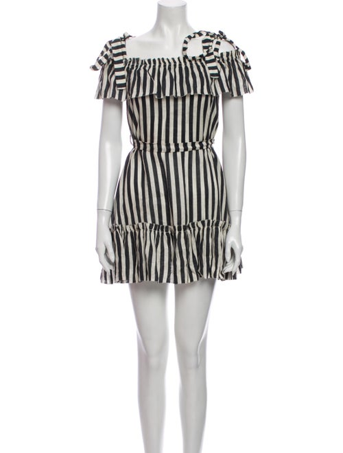 Zimmermann Striped Mini Dress