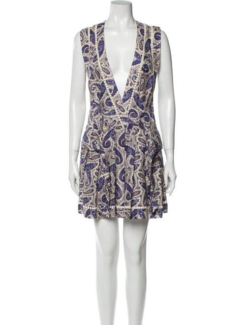 Zimmermann Paisley Print Mini Dress