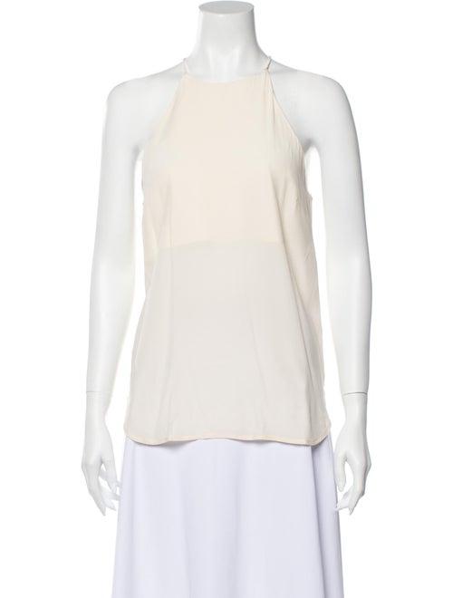Zimmermann Silk Halterneck Top
