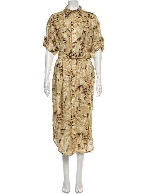 Zimmermann Linen Midi Length Dress