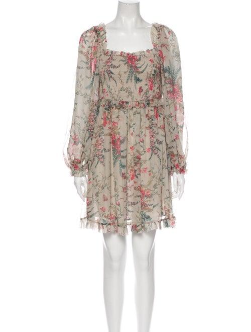 Zimmermann Bayou Flare Short Mini Dress