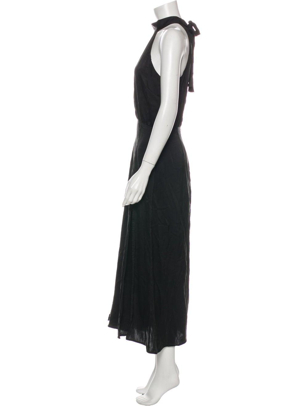 Zimmermann Silk Long Dress Black - image 2