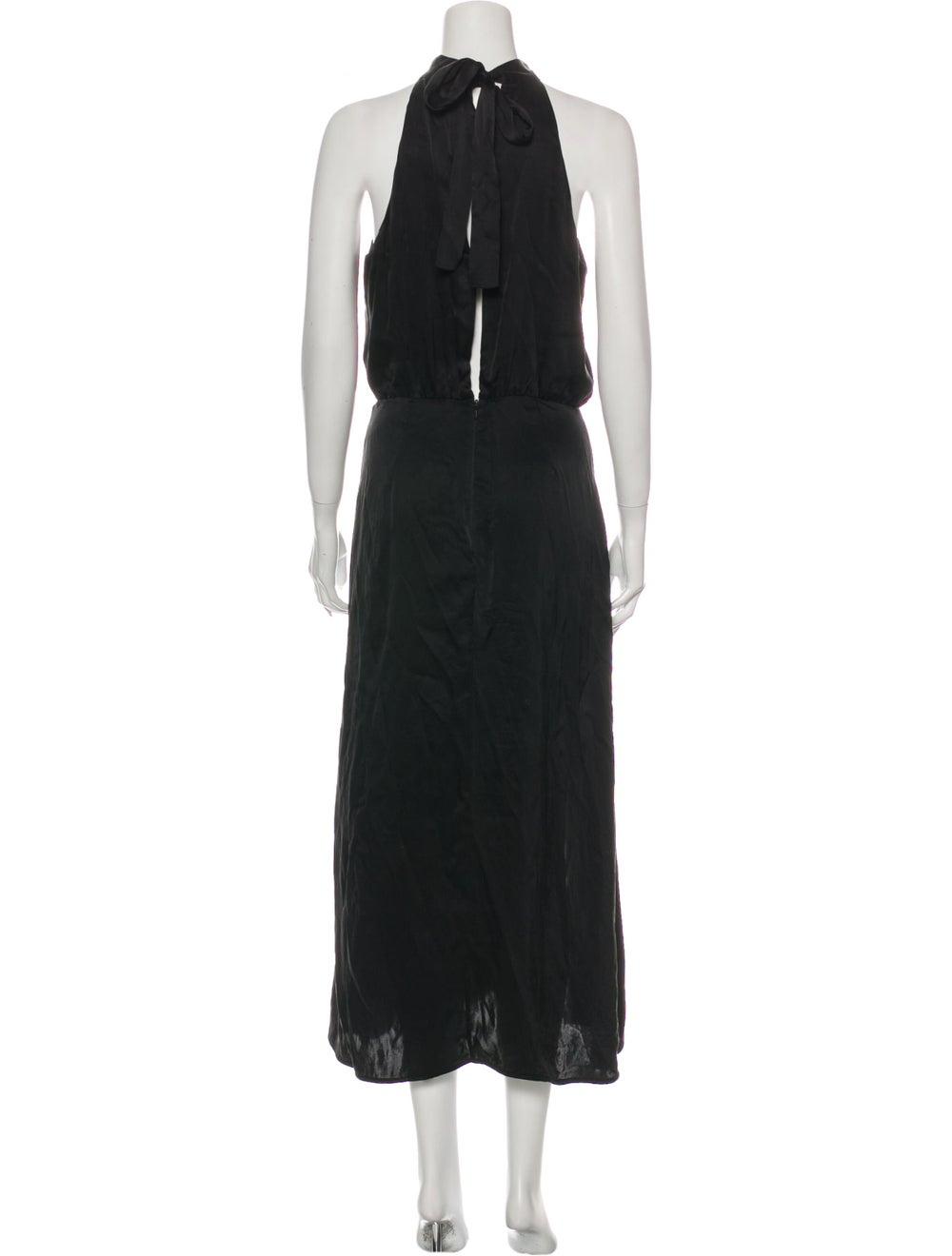 Zimmermann Silk Long Dress Black - image 3