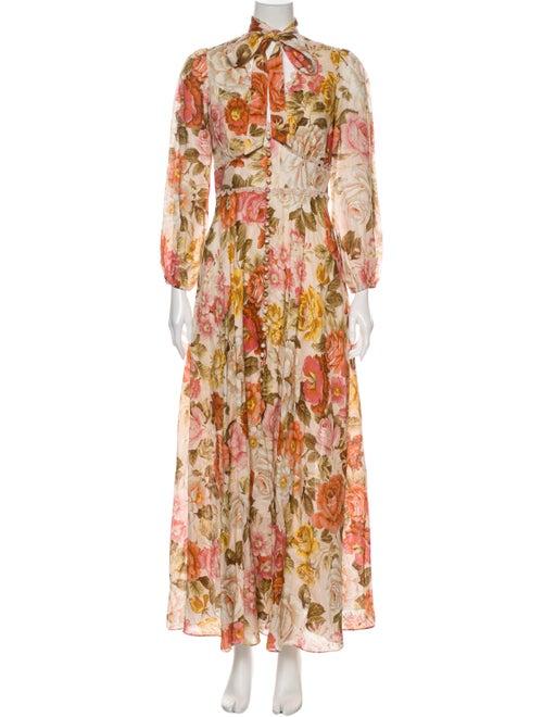Zimmermann Bonita Long Sleeve Long Dress w/ Tags
