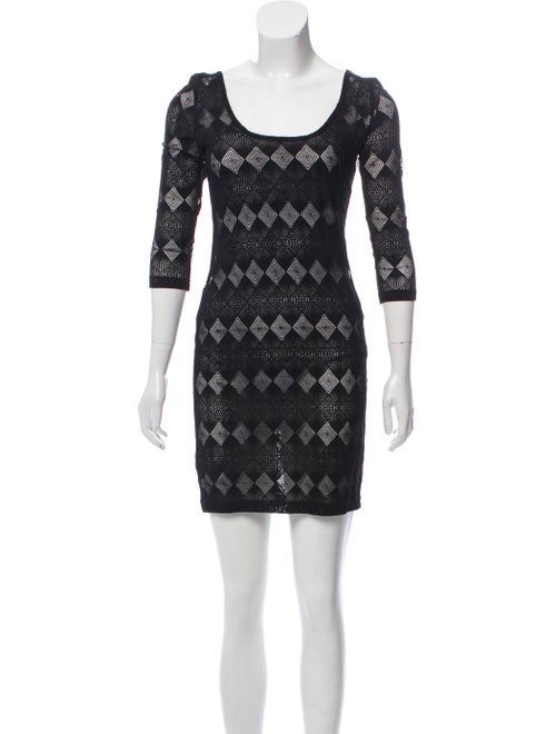 Zimmermann Cut-Out A-Line Dress Black