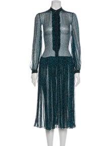 Zimmermann Silk Midi Length Dress