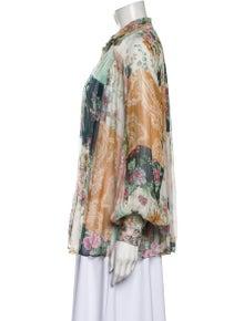 Zimmermann Silk Printed Blouse