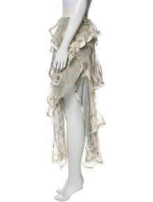 Zimmermann Silk Midi Length Skirt