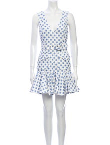 Zimmermann Linen Mini Dress
