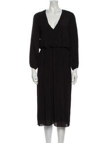 Zimmermann V-Neck Midi Length Dress