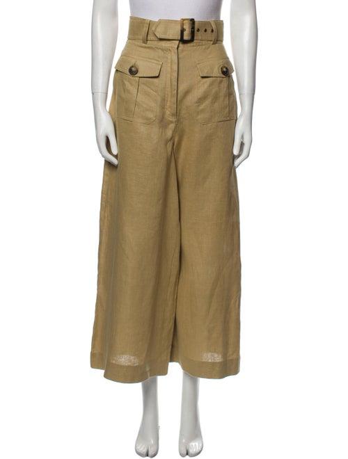 Zimmermann Linen Wide Leg Pants