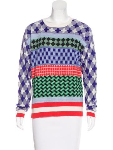 Novis Cashmere & Silk-Blend Sweater None