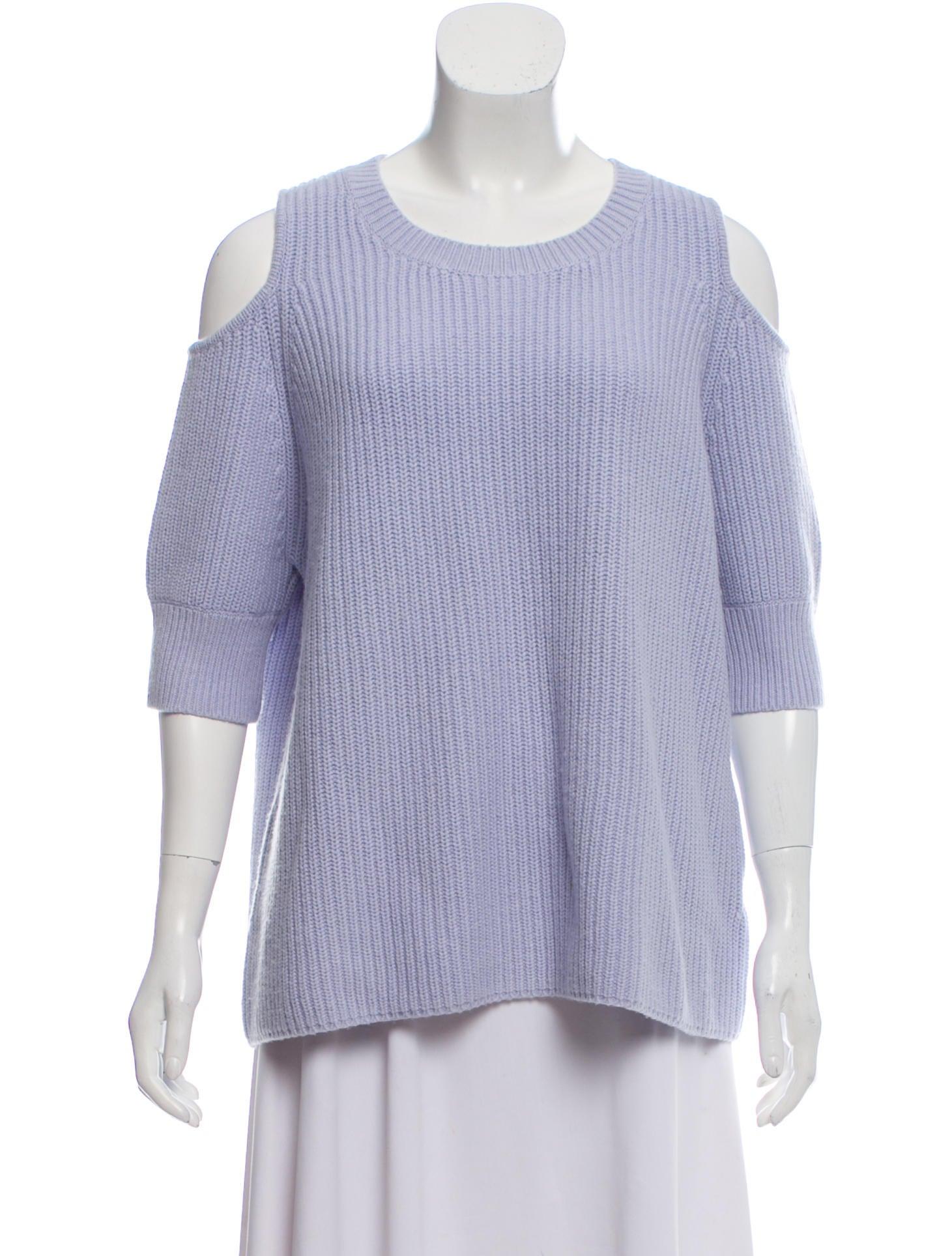 722071c5e6e Zoë Jordan Wool Cold-Shoulder Sweater - Clothing - WZOJD20086 | The ...