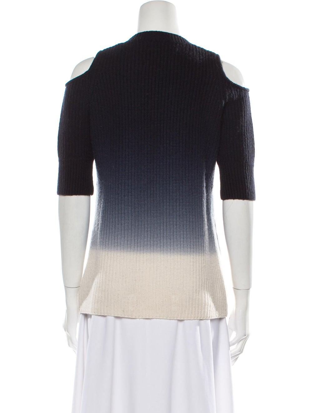 Zoë Jordan Wool Tie-Dye Print Sweater Wool - image 3