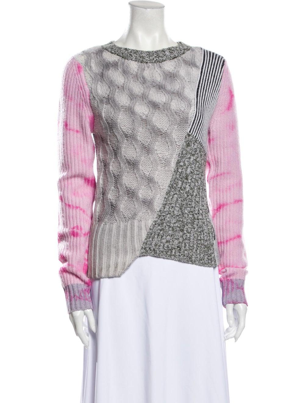 Zoë Jordan Wool Tie-Dye Print Sweater Wool - image 1