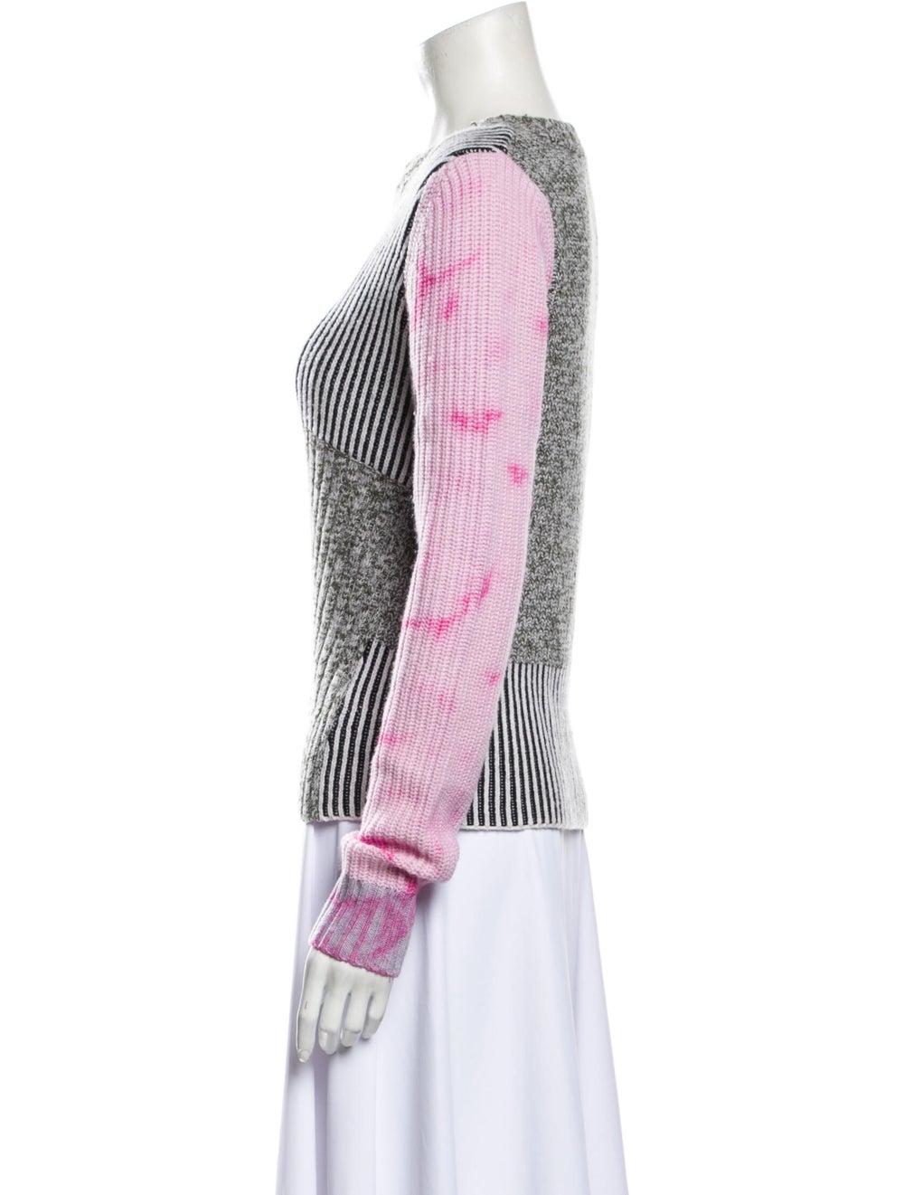 Zoë Jordan Wool Tie-Dye Print Sweater Wool - image 2