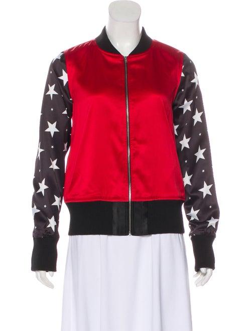 74e57953f Zoe Karssen Allison Mosshart x Zoe Karssen Star-Print Bomber Jacket ...